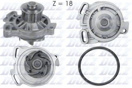 Помпа VW Transporter 2.5 / 2.4D 90 -> A-176