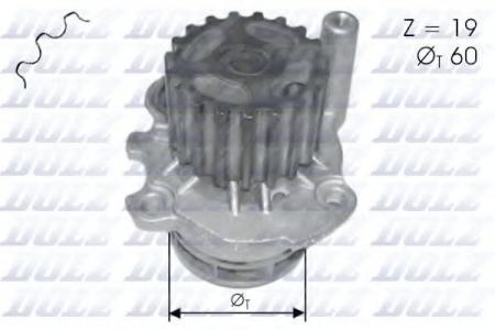 Помпа VW Polo / Lupo, Seat Arosa 1.2TD / 1.4TD 99 -> A-196