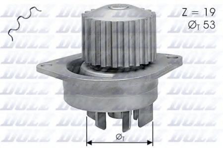 Помпа Peugeot 106 / 206 / 307, Citroen Xsara 1.6i 16V 96 -> C-113