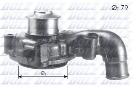 Помпа Ford Escort / Orion / Fiesta 1.8TD 92 -> F-155