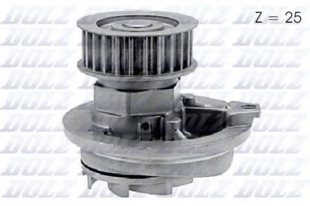 Помпа Opel Astra / Omega / Vectra / Calibra 1.6i / 1.8i / 2.0i 86 -> O-137