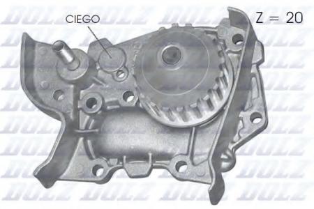Помпа Renault Megane / Kangoo / Clio 1.4i 96 -> R-214