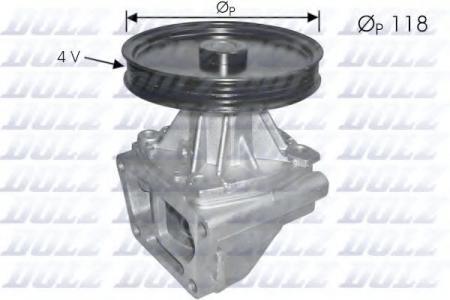 Помпа Fiat Tempra / Tipo / Uno / Fiorino 1.4i / 1.6i 88 -> S-146