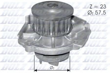 Помпа Fiat Punto 1.2 16V 97 -> S-219