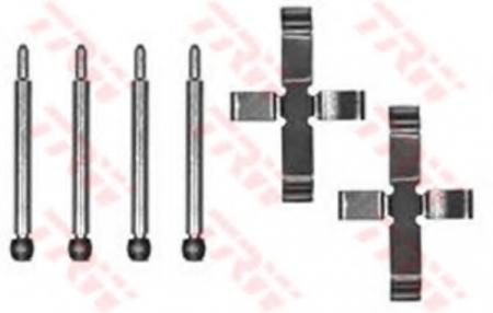 Установочный комплект дисковых колодок VOLVO 740, 760, 940, 960, C70, S70, V70 PFK152
