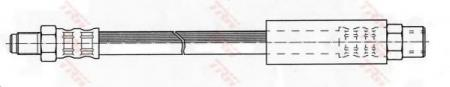 Тормозной шланг VAG PHB256