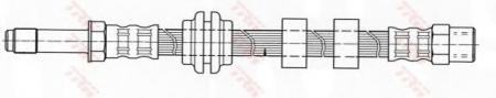 Тормозной шланг VAG PHB345
