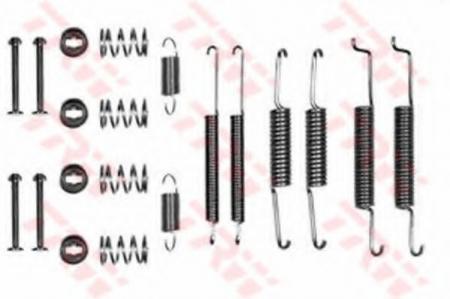 РемКомплект барабанных тормозных колодок VAG SFK85