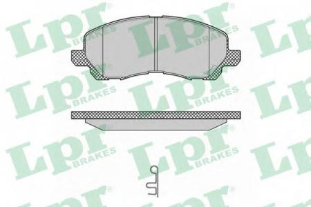 Колодки тормозные передние LANCER 03- (GDB3287) 05P1347