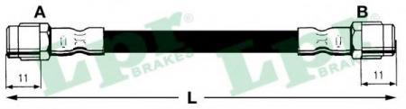 Шланг тормозной пер.A8 95-02 6T46748