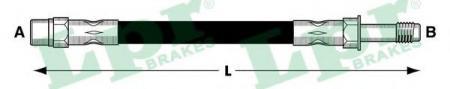 Шланг тормозной пер.W638 2.0-2.3 96-03 6T47373