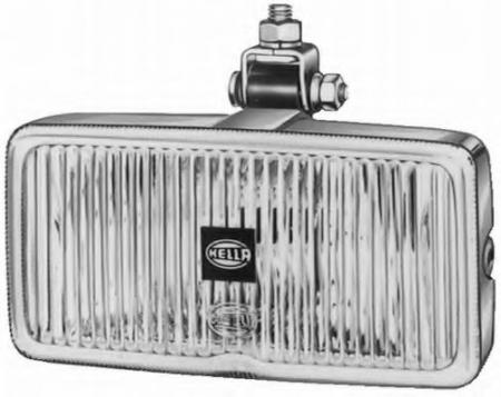 Фара противотуманная Classic 181 Chrom (с крышкой) Дополнительная оптика на автомобили 1ND 003 590-401