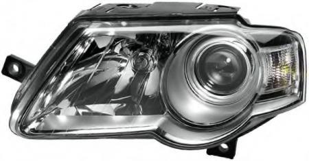 ФАРА ПРАВАЯ VW PASSAT B6 05-> H7 / H7 HELLA 1EL247014-021