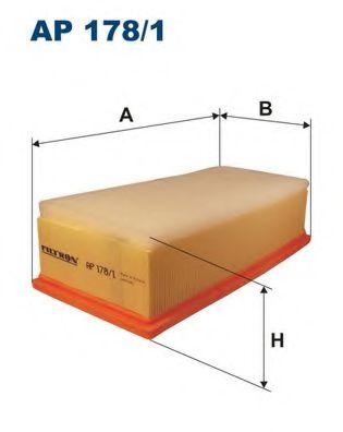 Фильтр воздушный AVENSIS 2.0 / 2.2D 05- (C31145) AP 178/1