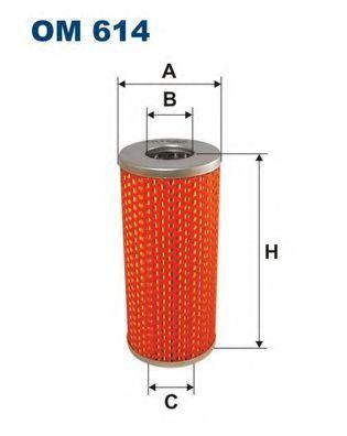 Фильтр масляный 3102 -93 (OX12) OM 614