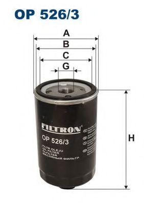 Фильтр масляный PASSAT G60 -97 (OC209) OP 526/3