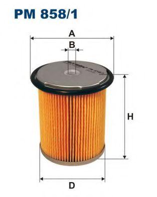 Фильтр топливный PEU.406 2.1TD PM 858/1