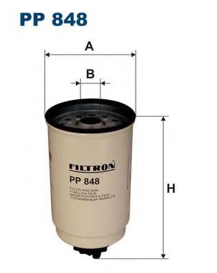 Фильтр топливный TRANSIT 2, 5 D / TD / TDI 94->00(KC90) PP 848