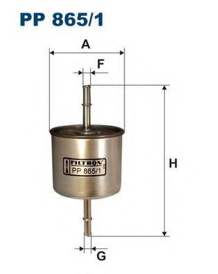Фильтр топливный EXPLORER 93- (WK78 / 2) PP 865/1