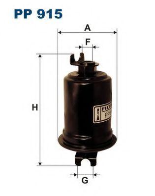 Фильтр топливный VITARA (KL203) PP 915