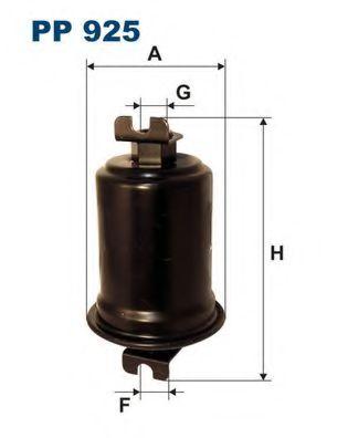 Фильтр топливный PAJERO 3.0 88-95 (WK614 / 31) PP 925