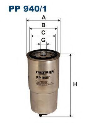 Фильтр топливный E38 / E39 2.5TD (KC65) PP 940/1