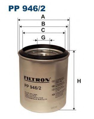 Фильтр топливный GRAND CHEROKEE / VOYAGER 2.5D -99 PP 946/2