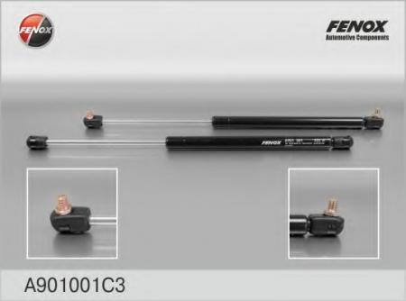 Амортизатор задней двери 2121, капота 2110 Fenox, цена за 1 шт A901001C3