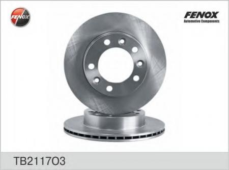 Диски тормозные -2217 FENOX TB2117O3
