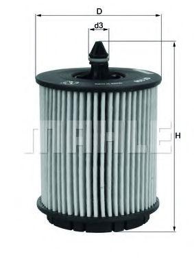 Фильтр масляный ASTRA / VECTRA OX258D