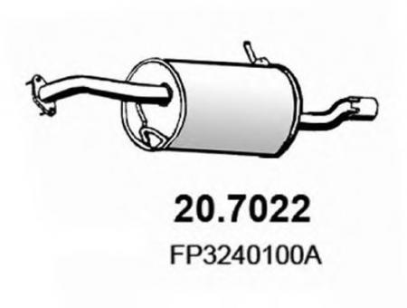 глушитель ASSO 20.7022