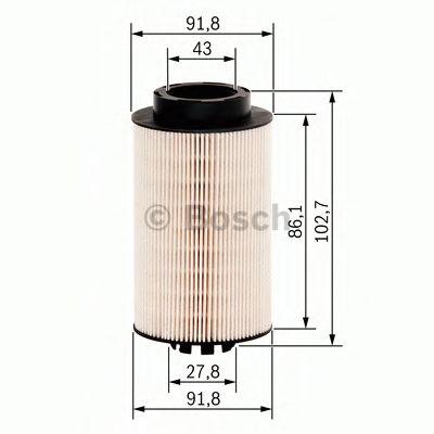 Топливный фильтр 1457431707