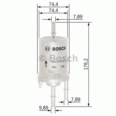 Фильтр топл. Audi A4 1.8T / A6 2.4i / 4.2i 02 -> F026403003