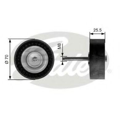 Ролик приводного ремня обводной MONDEO 2.0D 07- T36204