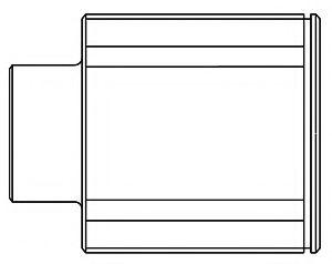 ШРУС внутренний IMPREZA / LEGACY 2.5 / 3.0 (FU-26A44) 656005