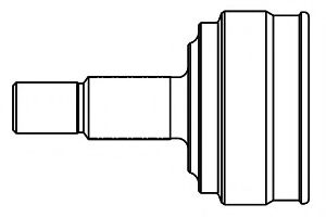 ШРУС наружный YARIS 1.0 16V 99- (TO-40) 859025