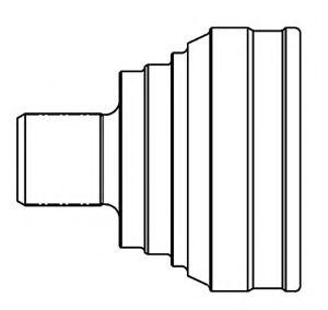 ШРУС наружный MAZDA 3 2.3 03- (MA-43) 834048