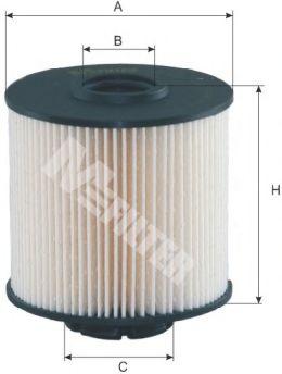 Фильтр топливный DE-631