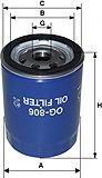 Фильтр масляный для FORD Escort / Fiesta / / Mondeo / Sierra 1, 8D / TD OG806