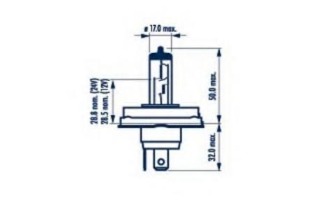 Галогенные лампы и наборы головного света для HR2 12V 45 / 40W (P45t) 48121