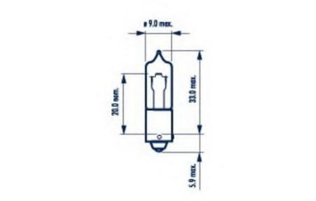 Сигнальные лампы для H21W 12V-21W (BAY9s) 68191