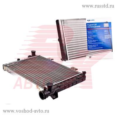 Радиатор охлаждения (2-рядный) ВАЗ-2106 ДЗР 2106-1301012-11 / 21060130101211