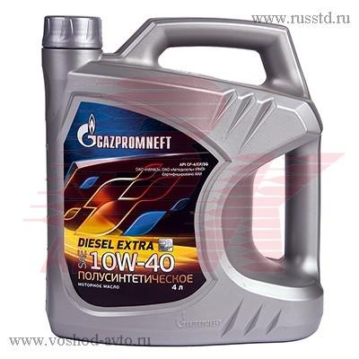 Масло Gazpromneft Diesel Extra 10W-40 мот диз п / с (4л) 2389901351