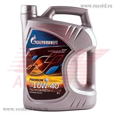 Масло Gazpromneft Premium10W-40 мот п/с (5л) 2389901314